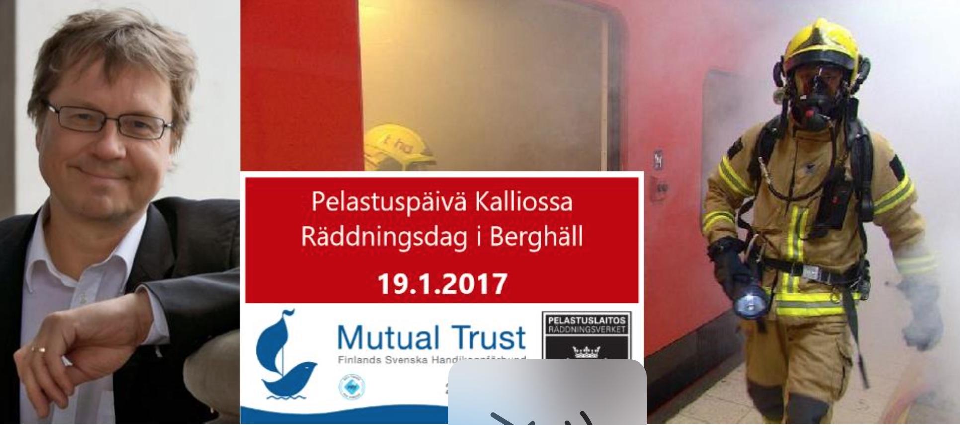 Pelastuspäivä Kalliossa 19.1.2017